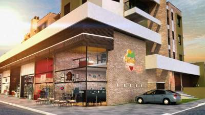 fachada-bertussi - Imagens 3D