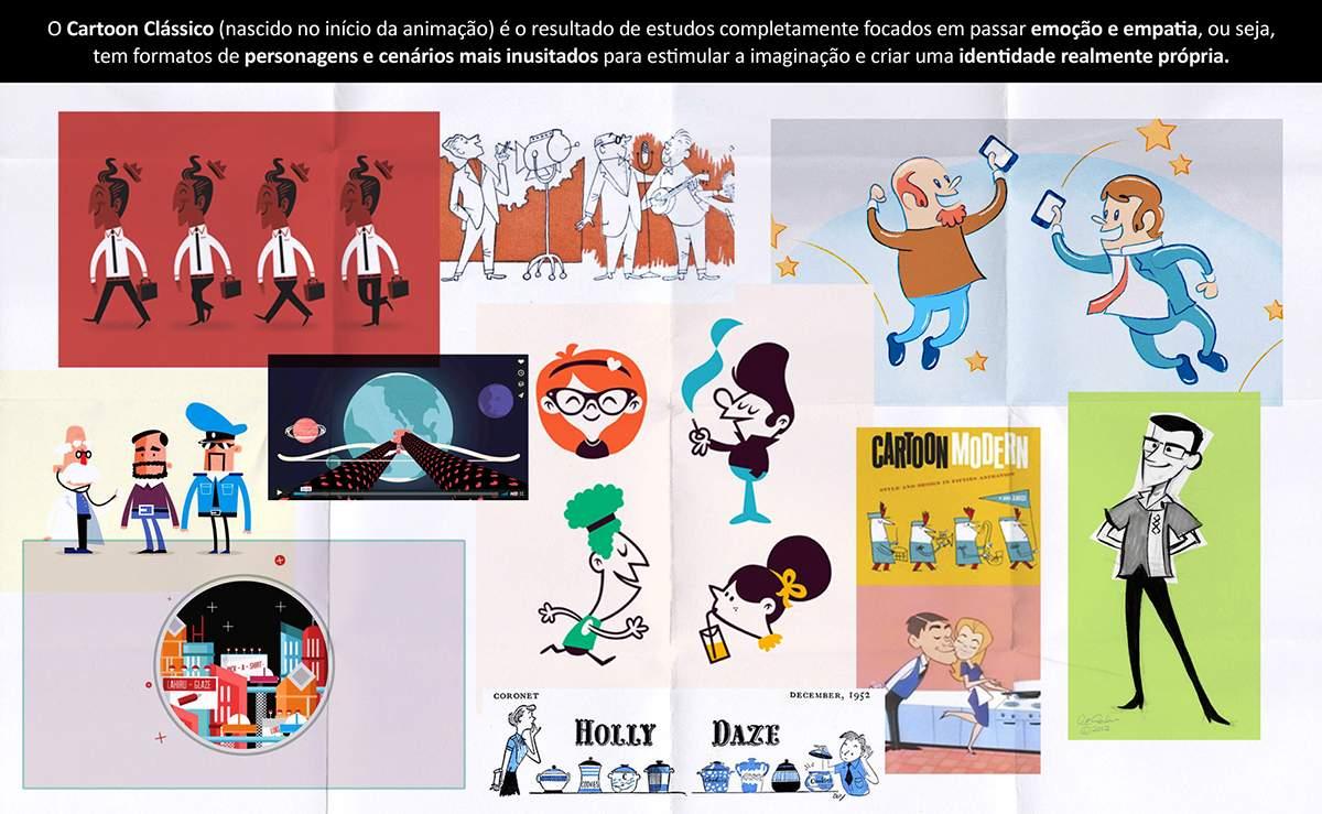 Moodboard para vídeo institucional Andrade Maia
